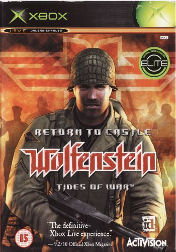 Return to Castle Wolfenstein Tides of War [Region Free/ENG/DVD9]