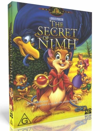 Секрет Н.И.М.Х. / The Secret of NIMH (1982) HDTV 720p