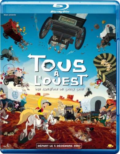 Путешествие на запад / Tous a l'Ouest: Une aventure de Lucky Luke (2007) BDRip 720p
