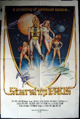 Starship Eros (Scott McHaley / Capa Productions)[1980 , All Sex, Sci-Fi, ...
