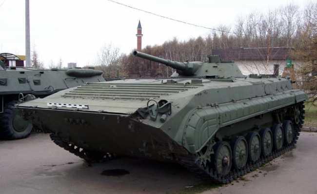 БМП-2 (объект 675) ,история,характеристики