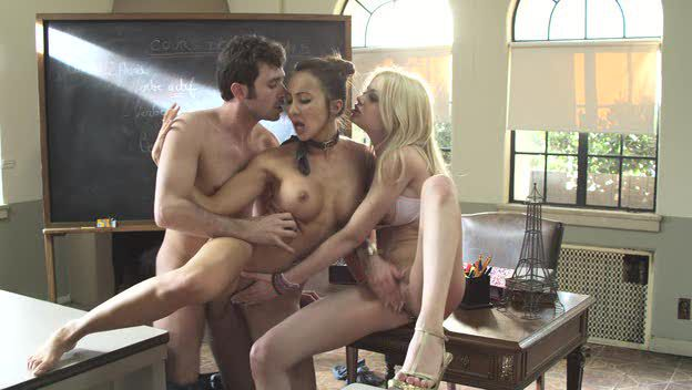 "Katsuni and Riley Steele (����� ��""Teachers"") / ������� ������ �������� � ����� ���������. [2009 �., All Sex,Oral, Anal.]"