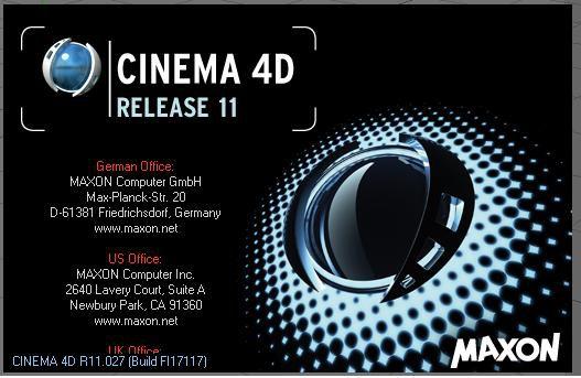 MAXON Cinema 4D R11.027 Portable (English/RUS) Full 2008