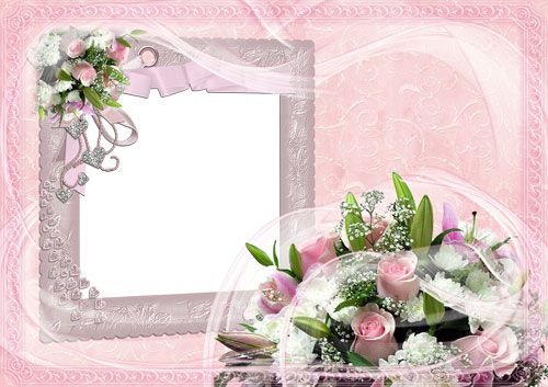 the frame for photoshop pink tenderness 1 png 3508 2480 12 mb author ...