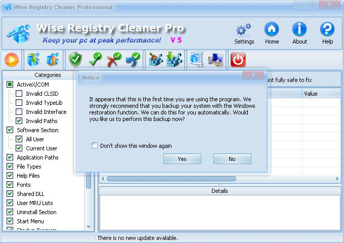 Wise Registry Cleaner Pro 5.88 Build 330