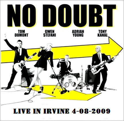 No Doubt - Live in Irvine, CA 4-08-2009 [2009 г., Ska-Punk / Pop-Rock, CamRip]
