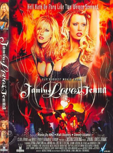 Джанин любила Дженну / Janine Loves Jenna (Justin Sterling, Feature, Anal, DP, Straight, Oral, 2007) [BDRip, Русский (Два голоса)]