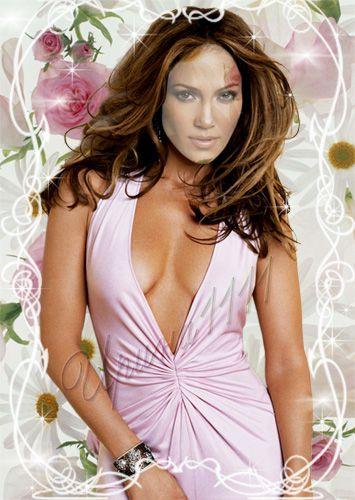 Женский шаблон для Photoshop - Розовая мечта