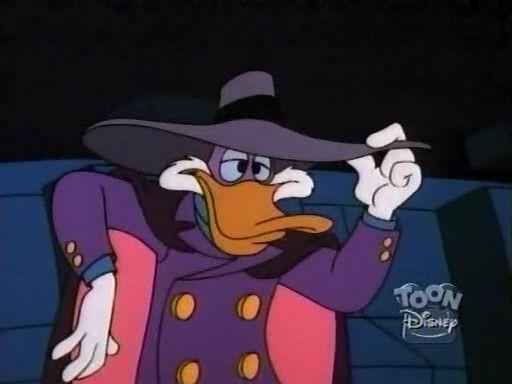 Черный Плащ / Darkwing Duck От Винта Черный Плащ