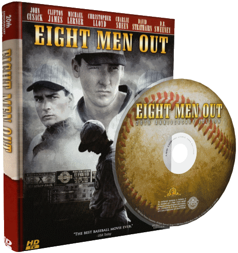 Восемь выходят из игры / Команда вне игры / Eight Men Out (1988) HDTVRip 720p