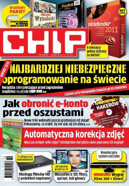 CHIP  10/2010 [Wszystkie numery 2010 ]