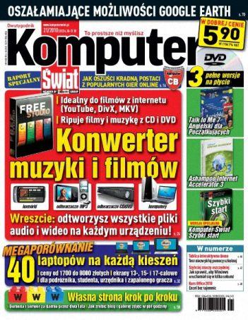 Komputer Świat 21/2010 [ wszystkie (prawie) numery 2010 ]
