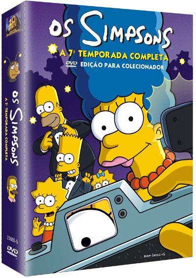 1583b428790f90789698aa44db3c24fb Os Simpsons 7ª Temporada AVI Dublado
