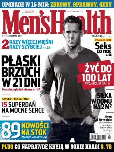 Men's Health 11/2010 [ wszystkie numery 2010 ]