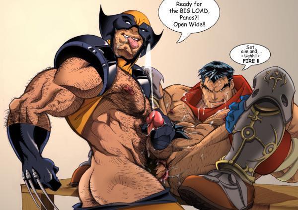 Росомаха секс комикс