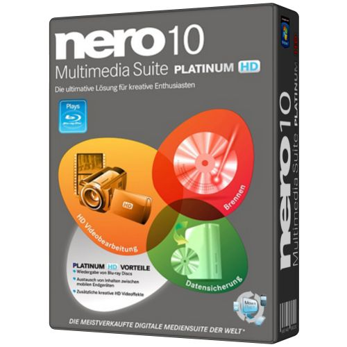 Nero 10 Platinum HD 10.5.10900(x86-x64)[MULTI+RUS]