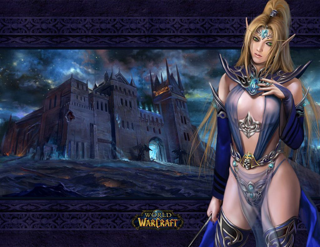 Warcraft elf girls pictures nackt movies
