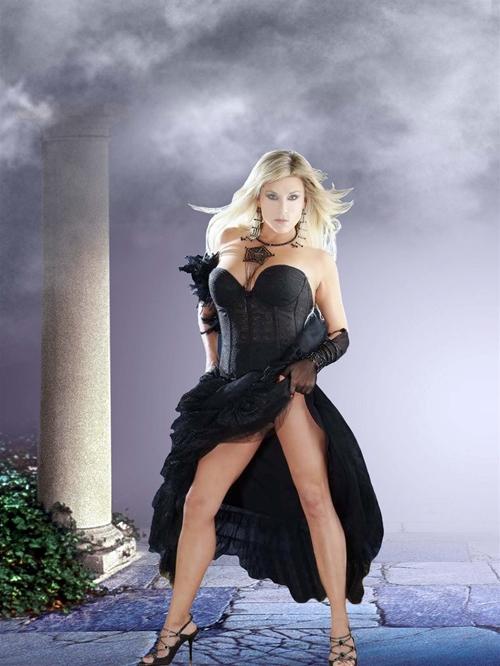 женский шаблон для фотошопа: Афродита.