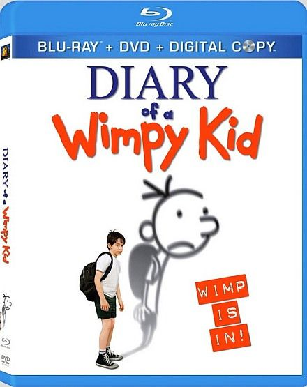 Дневник слабака / Diary of a Wimpy Kid (2010/DVD5/HDRip/1400Mb/700Mb)