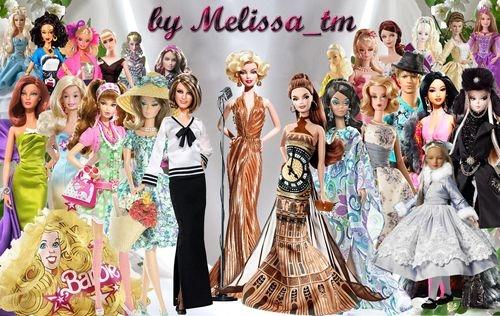 Клипарт для фотошопа Куклы Барби (часть 2)