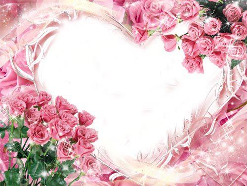 Рамка для фото –  Романтика розовых роз