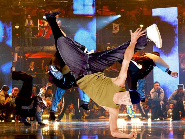 Шаблон для фотошопа: Танцы улиц 2.