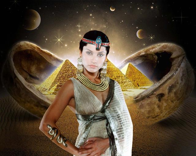 Шаблон для фотошопа - Клеопатра