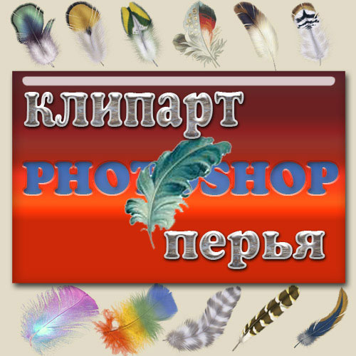 "Клипарты ""Перья""(Clipart Per'ya)"