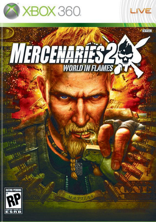 [XBOX360] Mercenaries 2: World in Flames [2008/RUS]