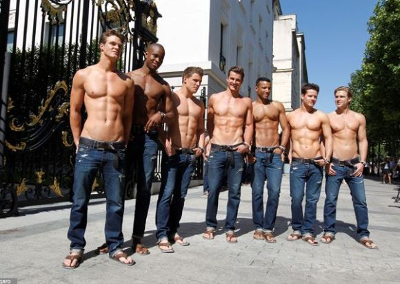 abercrombie and fitch models nude № 79808