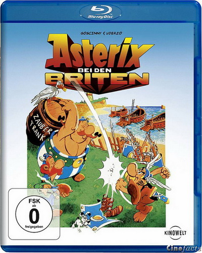 Астерикс в Британии / Asterix chez les Bretons (1986) BDRip 720p