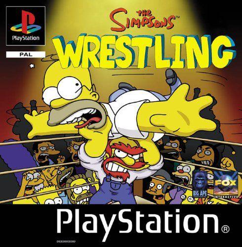 The Simpsons Wrestling (2001/RUS/PSone)