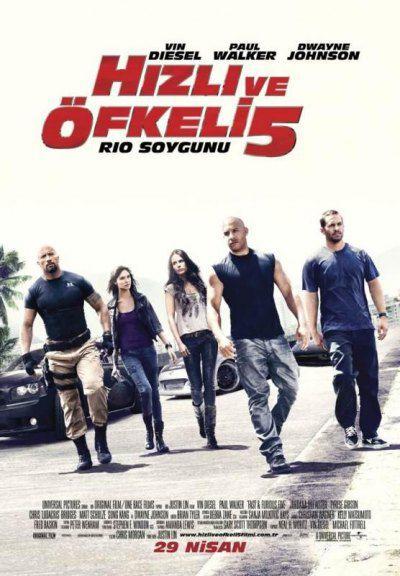 Hızlı ve Öfkeli 5 2011 - Fast And Furious 5 Rio - DVDScr - XviD - TR Altyazı