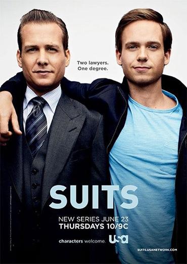 Костюмы в законе (Форс-мажоры) / Suits (1 сезон / 2011) WEB-DLRip