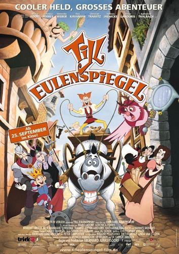 Шутник Тиль / Тиль Уленшпигель / Jester Till / Till Eulenspiegel(Эберхард Юнкерсдорф / Eberhard Junkersdorf)[2003, мультфильм, приключения,семейный, HDTV 1080i] MVO