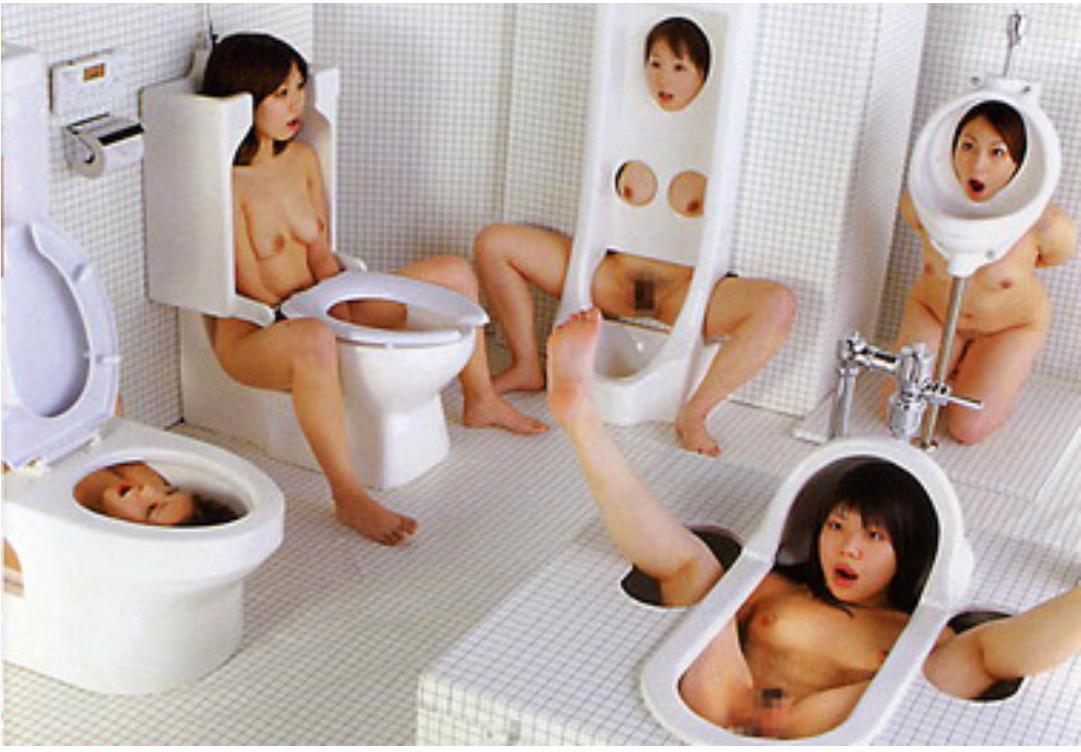 Японские женские туалеты, фотографии секс с связанными девушками