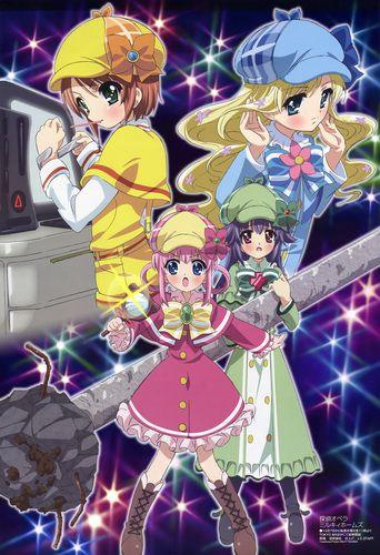 Детективное агентство Милки Холмс / Tantei Opera Milky Holmes (TV) [серии 12 из 12] JPN+SUB