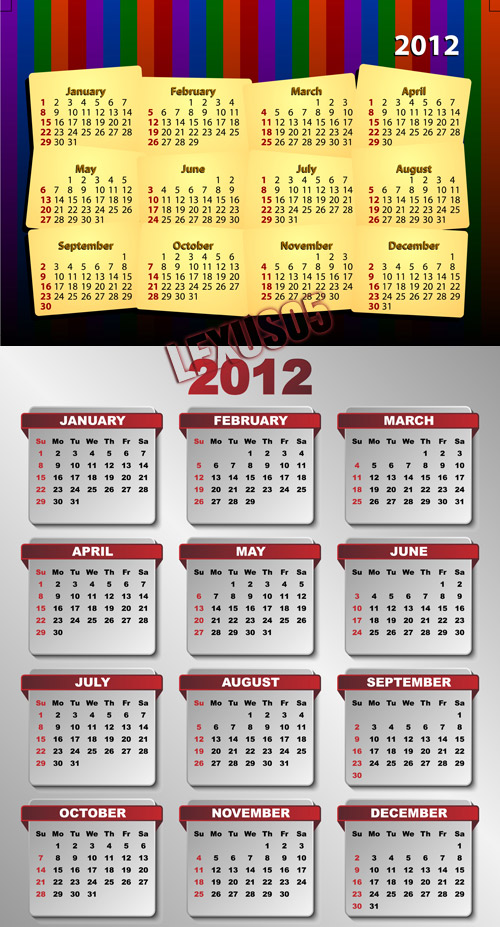 EPS Calendars 2012