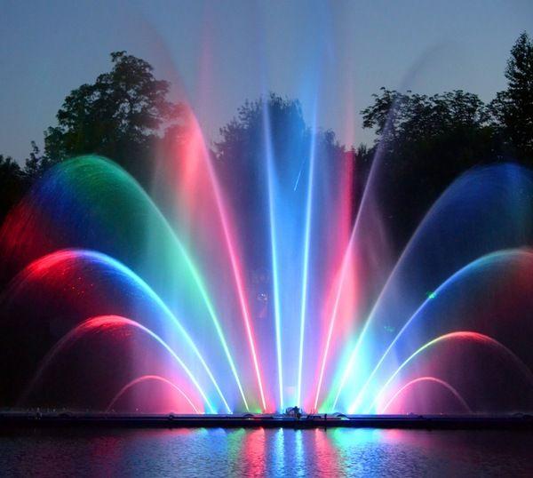 Светомузыкальный фонтан в Виннице
