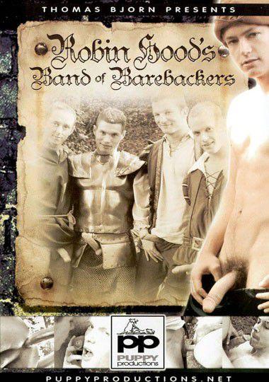 Робин Гуд со стрелой, но без резины / Robin Hood's Band of Barebackers (Thomas Bjorn) [2009 г., Anal/Oral Sex, Bareback, Cumshot, Sucking, Group Sex, Twinks,Rimming, DVDRip]