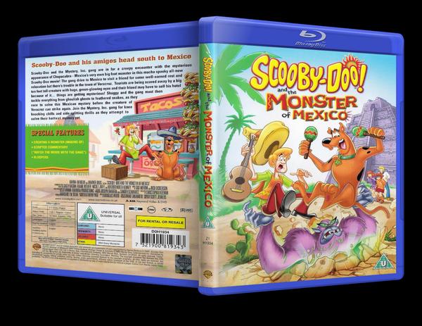 Скуби-Ду и монстр из Мексики / Scooby-Doo! and the Monster of Mexico (Скотт Джералдс / Scott Jeralds) [2003, мультфильм, комедия, детектив, семейный, BDRip] MVO + Eng
