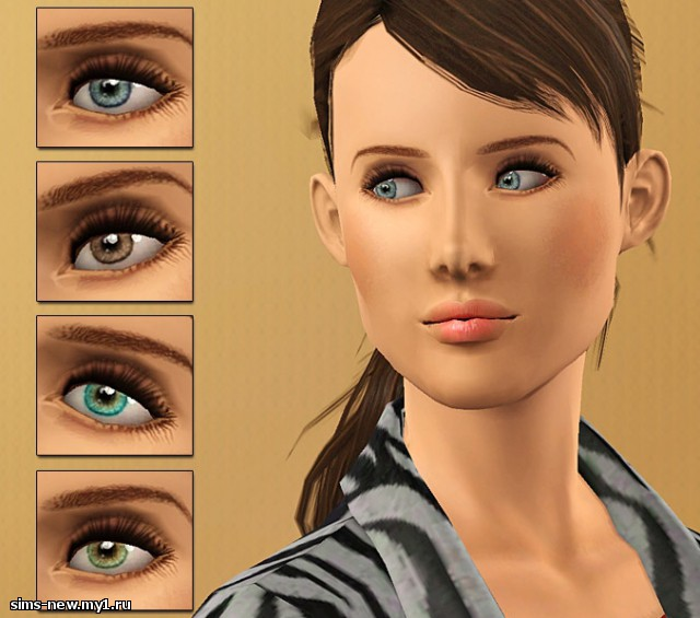 Глаза, линзы, брови для Sims 3 7d556ba907b0a745c70ffef65fa2505e