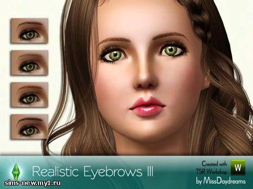 Глаза, линзы, брови для Sims 3 Ede79a18afd4c6335f18dd2534577309