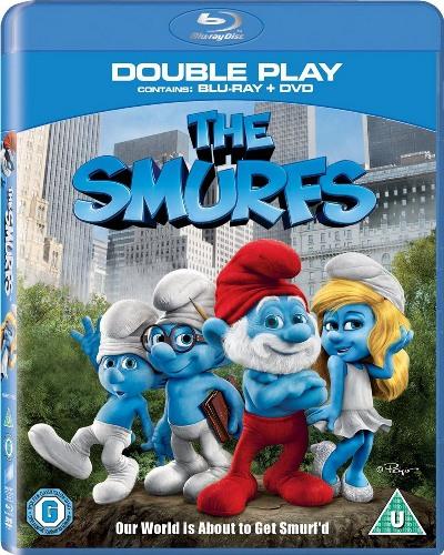 Смурфики / The Smurfs (Раджа Госнелл / Raja Gosnell) [2011, Мультипликация, сказка, BDRip 720p] Dub + eng sub
