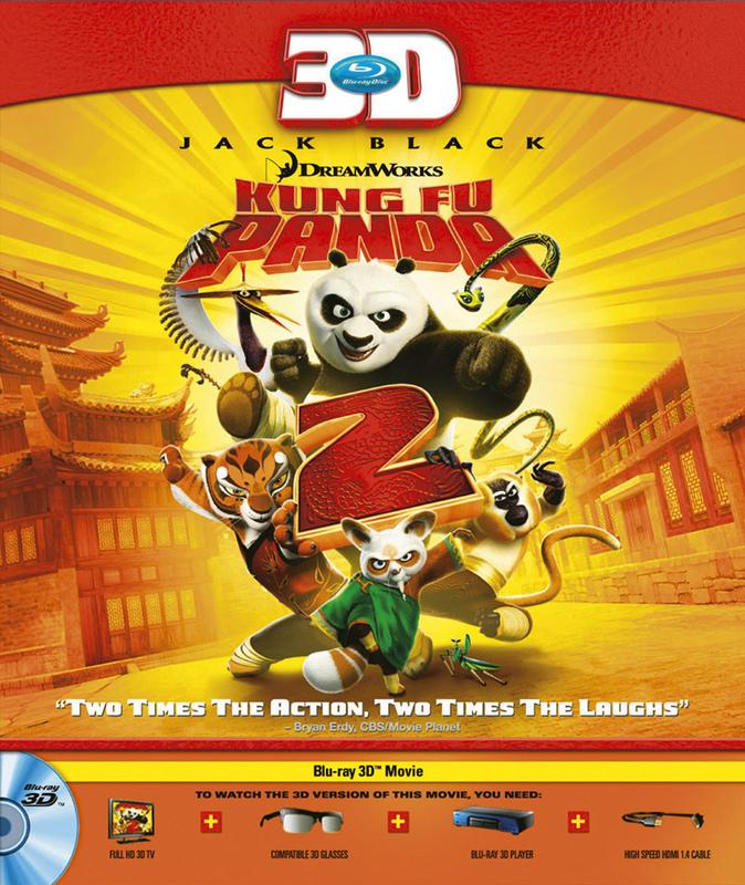 Кунг-фу Панда 2 3D / Kung Fu Panda 2 3D (2011) [BDrip, 1080p, Anaglyph Dubois/ Анаглиф Дюбуа]
