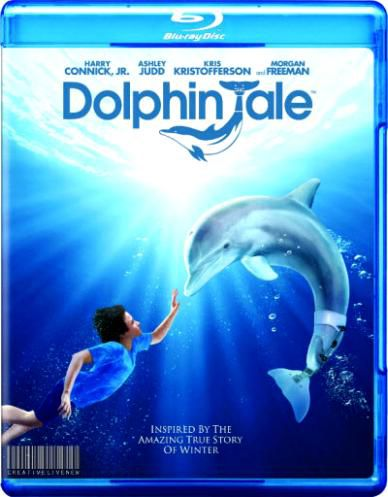 Постер История дельфина / Dolphin Tale (Чарльз Мартин Смит) [2011, драма, семейный, HDRip] DUB