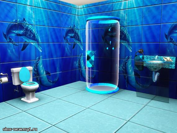 Ванная комната с дельфинами фото