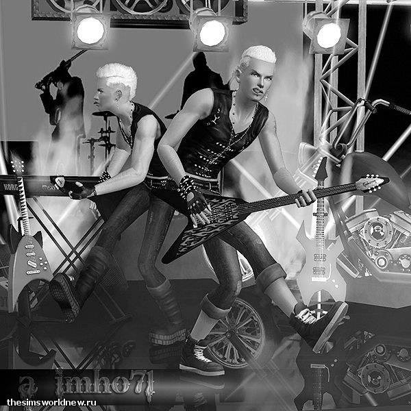 sims 3. Poses - We Will Rock You by IMHO (8).jpg