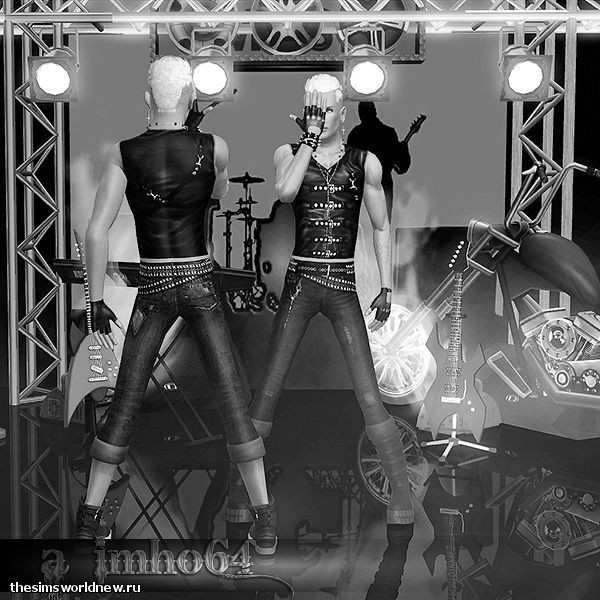 sims 3. Poses - We Will Rock You by IMHO (1).jpg