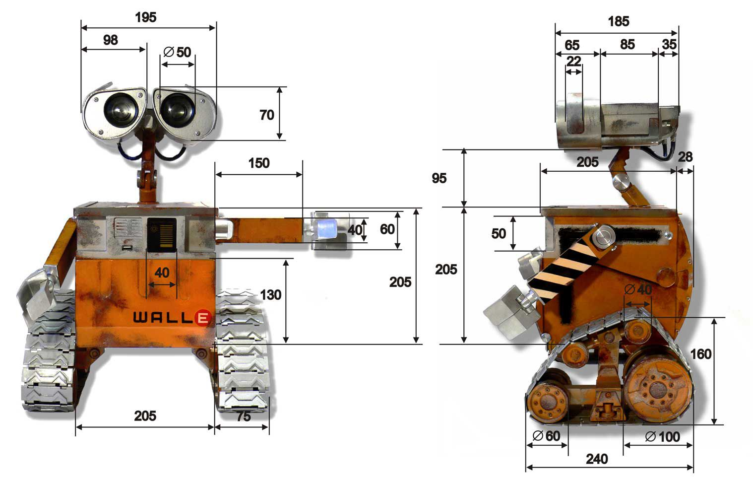 Как сделать роботы по схеме